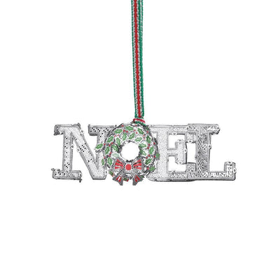 NOEL Decoration with Wreath - R. Mc Cullagh Jewellers