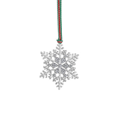Snowflake Clear Stones Decoration - R. Mc Cullagh Jewellers