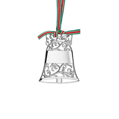 Silverplate Bell Christmas Decor - R. Mc Cullagh Jewellers