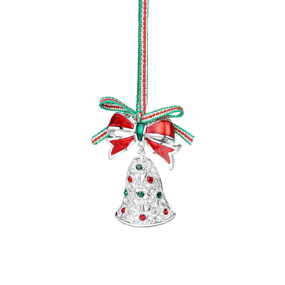 Christmas Bell with Bow decoration - R. Mc Cullagh Jewellers