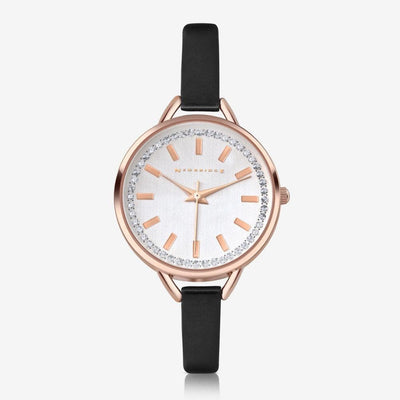CS14655BLK Ladies Watch Round Face - R. Mc Cullagh Jewellers