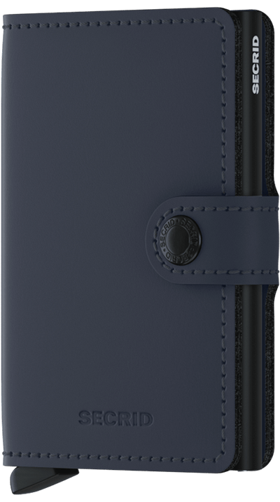 Secrid Miniwallet Matte Nightblue - R. Mc Cullagh Jewellers