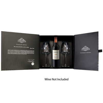 TIPPERARY CRYSTAL Connoisseur Two Red Wine Set with Space for Bottle - R. Mc Cullagh Jewellers