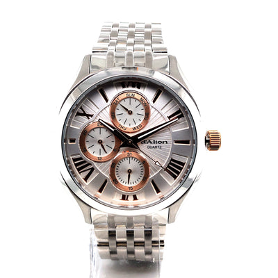 D'alton Gents watch rose gold multi dial - R. Mc Cullagh Jewellers