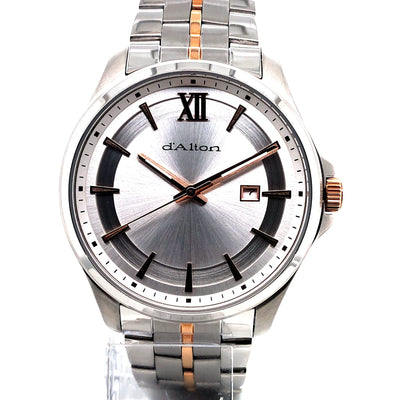 D'alton Gents watch two tone rose - R. Mc Cullagh Jewellers