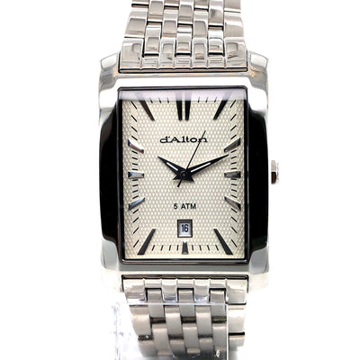 D'alton Gents watch rectangular case and cream dial - R. Mc Cullagh Jewellers