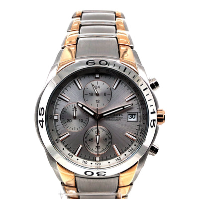 D'alton Gents watch chronograph two tone bracelet - R. Mc Cullagh Jewellers