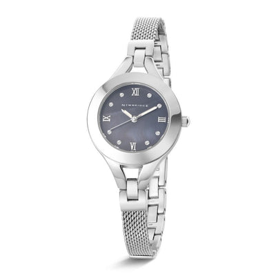 Ladies Mesh Watch with Black Face - R. Mc Cullagh Jewellers
