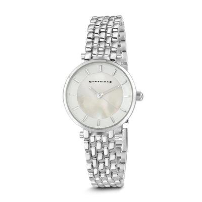Ladies Silverplated Watch White - R. Mc Cullagh Jewellers