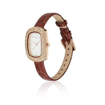 Ladies Watch Leather Strap - R. Mc Cullagh Jewellers