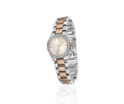 Rose Gold Silverplate Watch Round - R. Mc Cullagh Jewellers