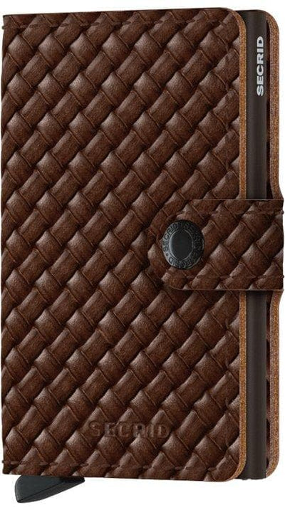 Secrid Miniwallet Basket Brown - R. Mc Cullagh Jewellers