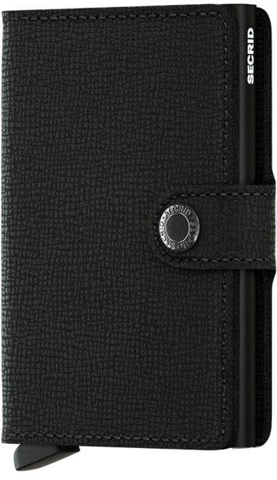 Secrid Miniwallet Crisple Black - R. Mc Cullagh Jewellers