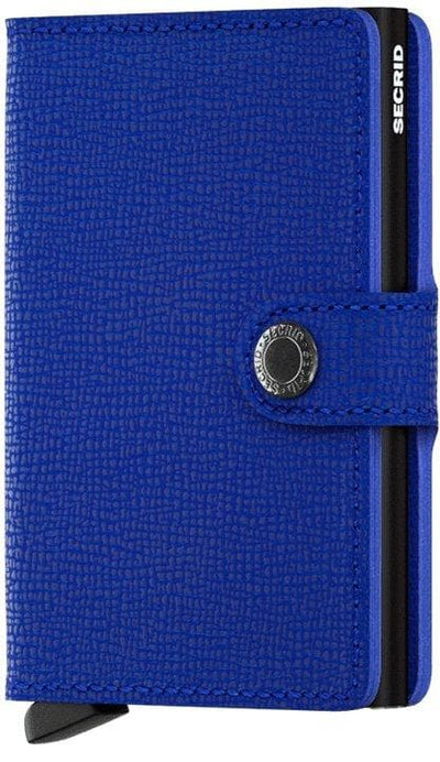 Secrid Miniwallet Crisple Blue-Black - R. Mc Cullagh Jewellers