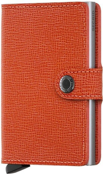 Secrid Miniwallet Crisple Orange - R. Mc Cullagh Jewellers