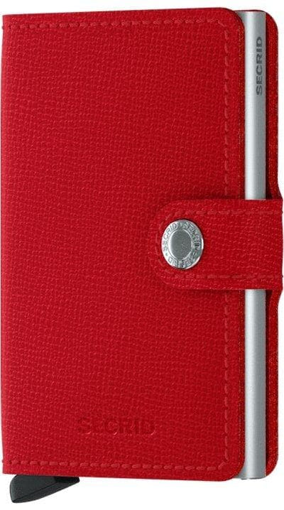 Secrid Miniwallet Crisple Red - R. Mc Cullagh Jewellers