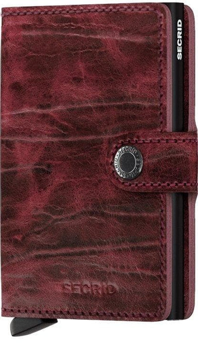 Secrid Miniwallet Dutch Martin Bordeaux - R. Mc Cullagh Jewellers