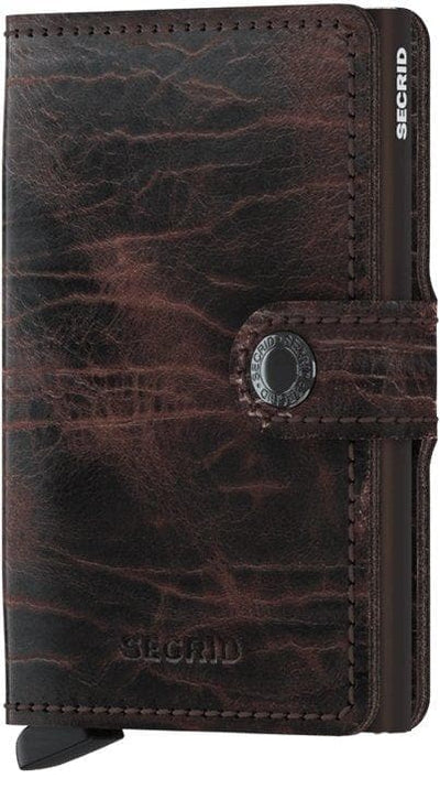 Secrid Miniwallet Dutch Martin Cacao-Brown - R. Mc Cullagh Jewellers