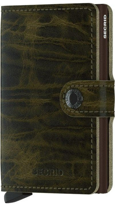 Secrid Miniwallet Dutch Martin Olive - R. Mc Cullagh Jewellers