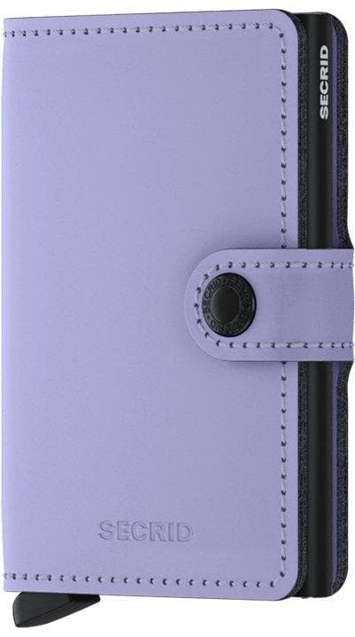 Secrid Miniwallet Matte Lilac-Black - R. Mc Cullagh Jewellers