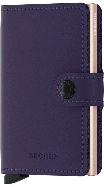 Secrid Miniwallet Matte Purple-Rose - R. Mc Cullagh Jewellers