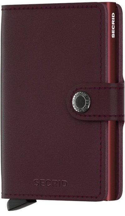 Secrid Miniwallet Original Bordeaux - R. Mc Cullagh Jewellers