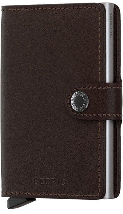 Secrid Miniwallet Original Dark Brown - R. Mc Cullagh Jewellers
