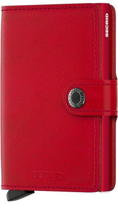 Secrid Miniwallet Original Red-Red - R. Mc Cullagh Jewellers