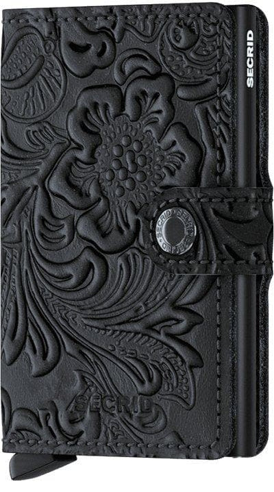 Secrid Miniwallet Ornament Black - R. Mc Cullagh Jewellers