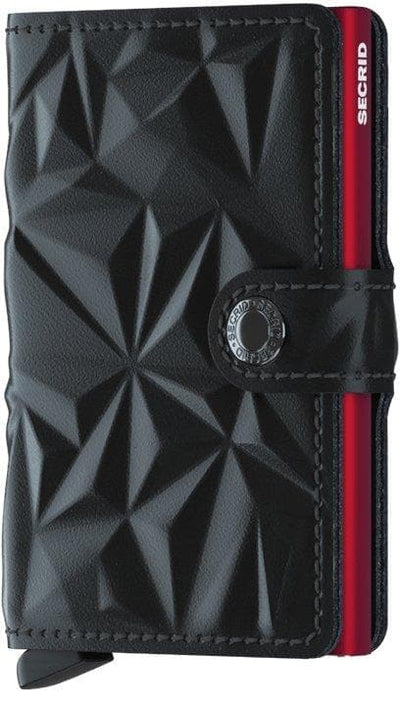 Secrid Miniwallet Prism Black-Red - R. Mc Cullagh Jewellers