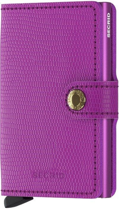 Secrid Miniwallet Rango Violet-Violet - R. Mc Cullagh Jewellers