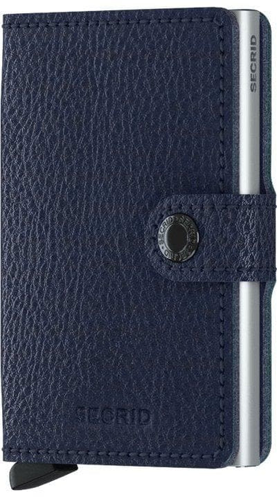 Secrid Miniwallet Veg Navy-Silver - R. Mc Cullagh Jewellers