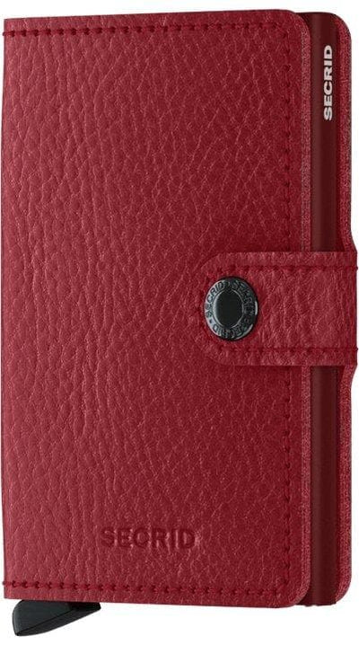 Secrid Miniwallet Veg Rosso-Bordeaux - R. Mc Cullagh Jewellers