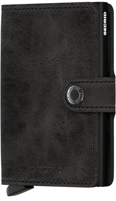 Secrid Miniwallet Vintage Black - R. Mc Cullagh Jewellers