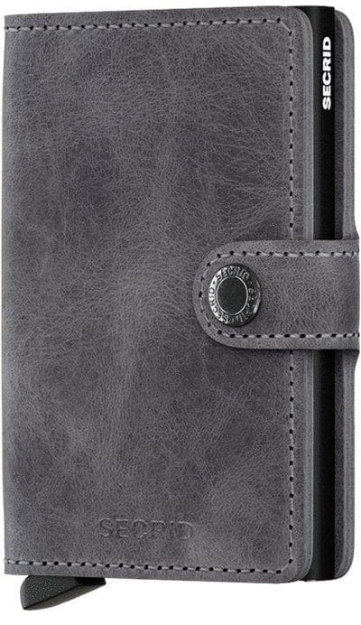 Secrid Miniwallet Vintage Grey-Black - R. Mc Cullagh Jewellers