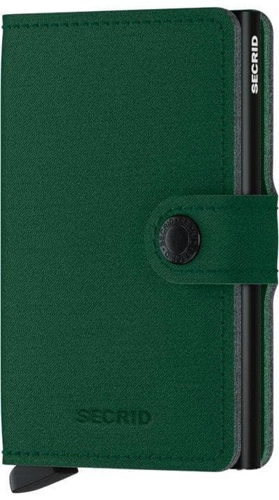 Secrid Miniwallet Yard Green Non Leather - R. Mc Cullagh Jewellers
