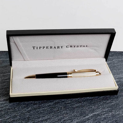 Tipperary Crystal James Joyce Gold Pen - R. Mc Cullagh Jewellers
