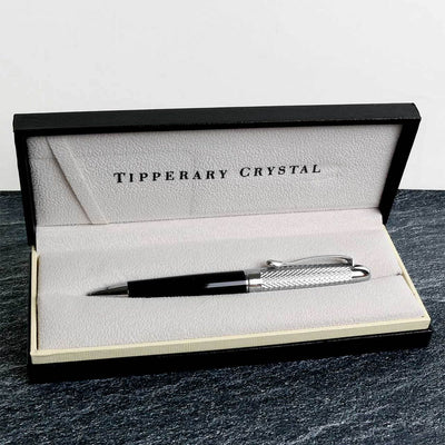 Tipperary Crystal James Joyce Silver Pen - R. Mc Cullagh Jewellers