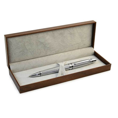 Tipperary Crystal Silver Pen & Box - R. Mc Cullagh Jewellers