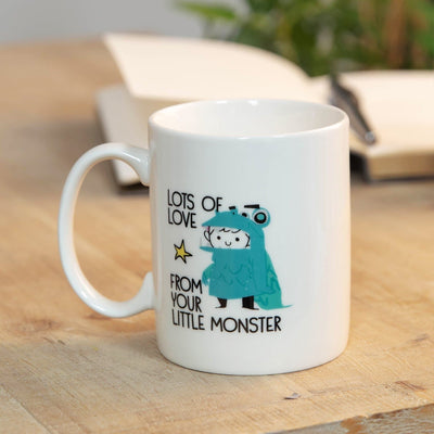 WORLD'S GREATEST DADDY YOUR LITTLE MONSTER STONEWARE MUG - R. Mc Cullagh Jewellers