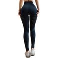High Waist Compression Seamless Tummy Yoga Pants S