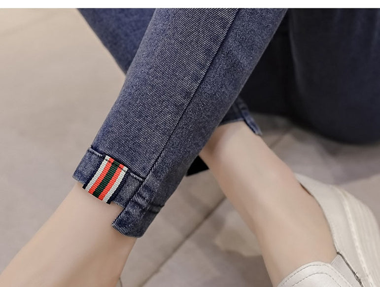 Denim Jeans Clothes Nursing Pregnancy Legging