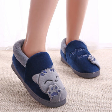 Soft Indoor Flats Comfort Winter Warm Home Slipper
