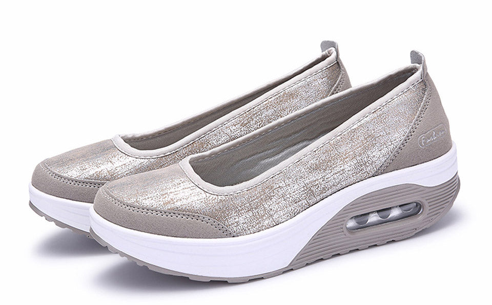 Casual Women Flat Platform Loafers Sneaker
