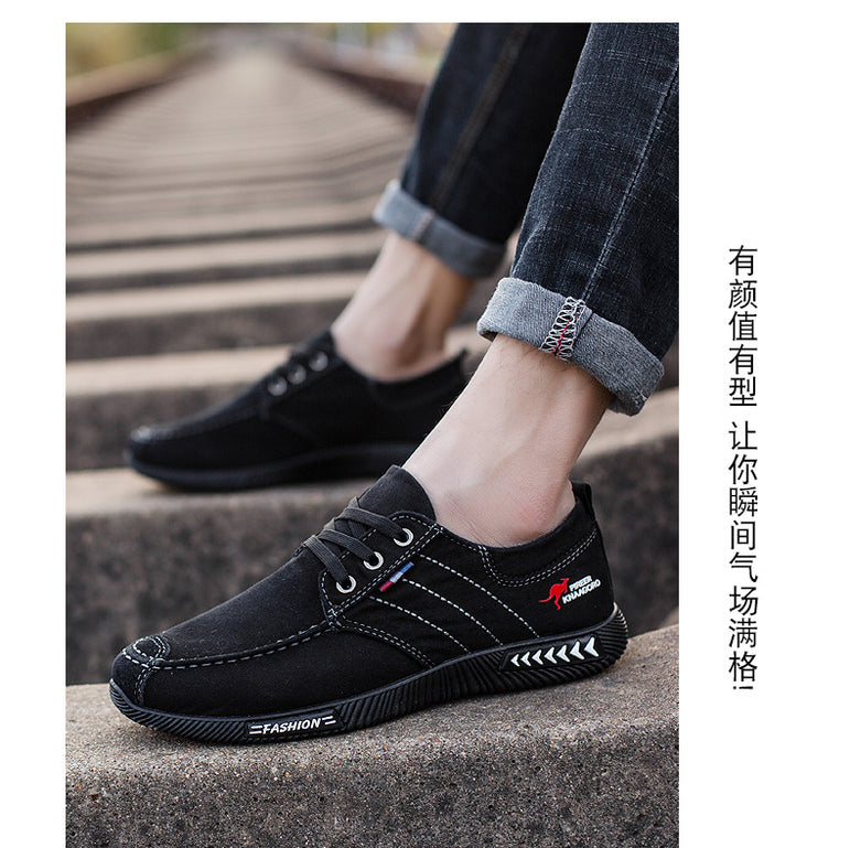 Casual Stripes Canvas Breathable shoes