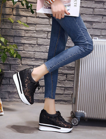 Casual Mesh Breathable platform Sneakers