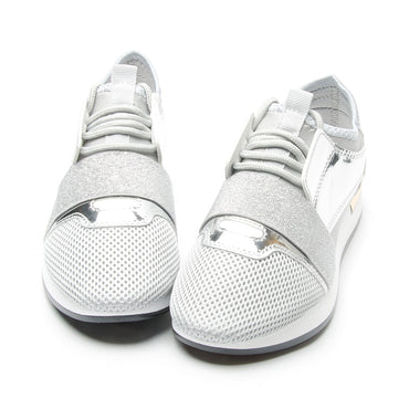Casual Leather Platform Sneakers