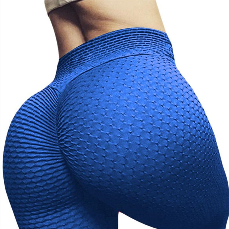High Waist Elastic Leggings Sport Women Fitness