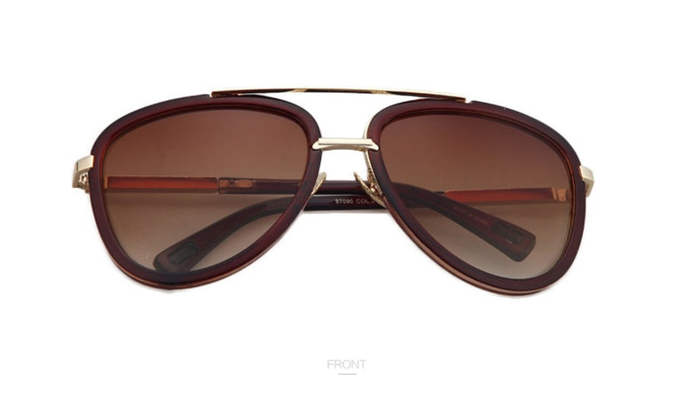 Pilot Shades Gradient Lens Sun glass