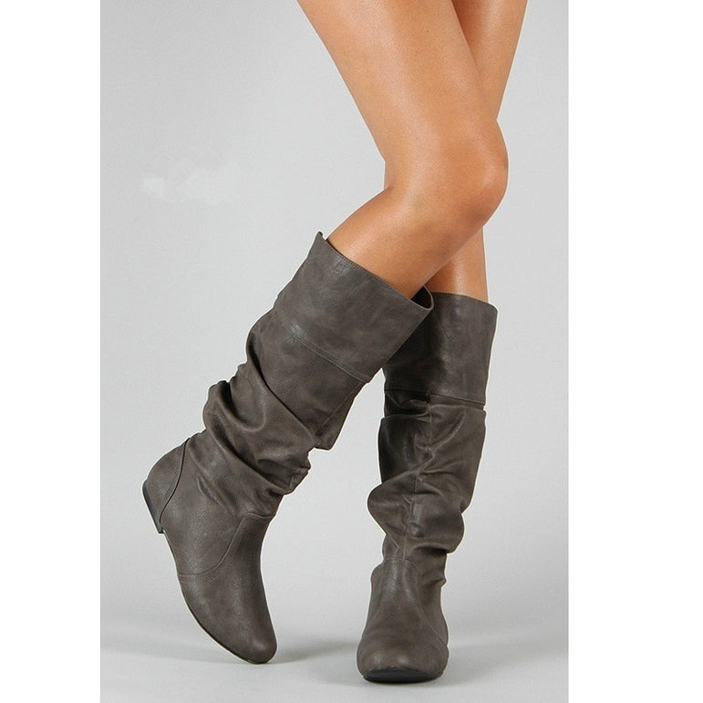 Lady Party Leather Motorcycle Boots